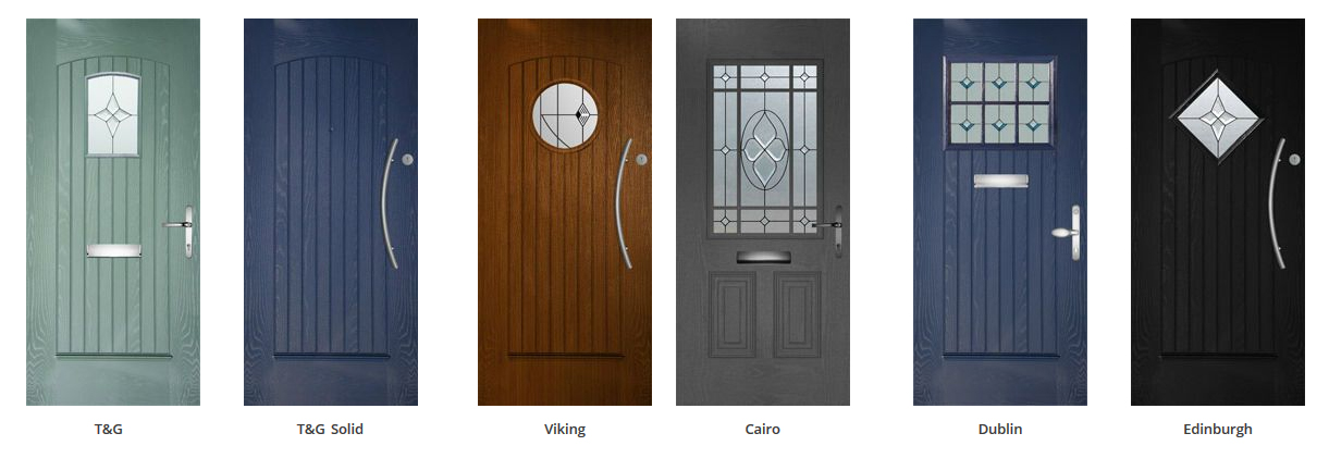 Door Collection offers you the choice of 26 stunning styles u0026 designs in fabulous colours to compliment your home. & Palladio - Ever Green Glazing